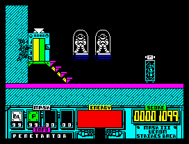 Игра для ZX-Spectrum - Venom Strikes Back